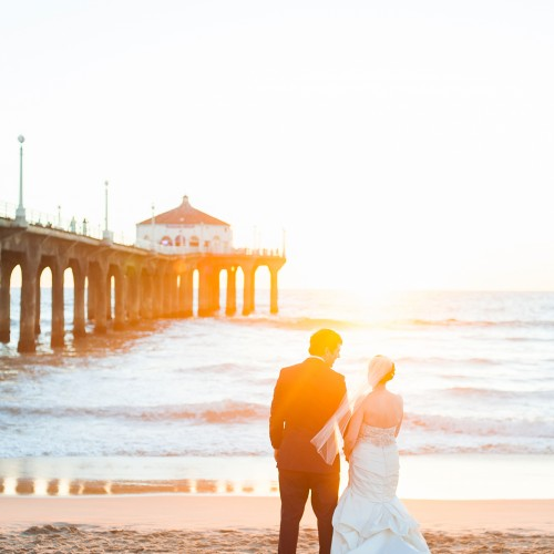 Laura + Dustin - Shade Hotel Wedding - Manhattan Beach, California