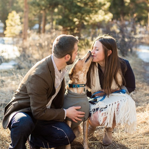 Andrea + Jason - Evergreen Alderfer Three Sisters Park Engagement Session - Evergreen, Colorado