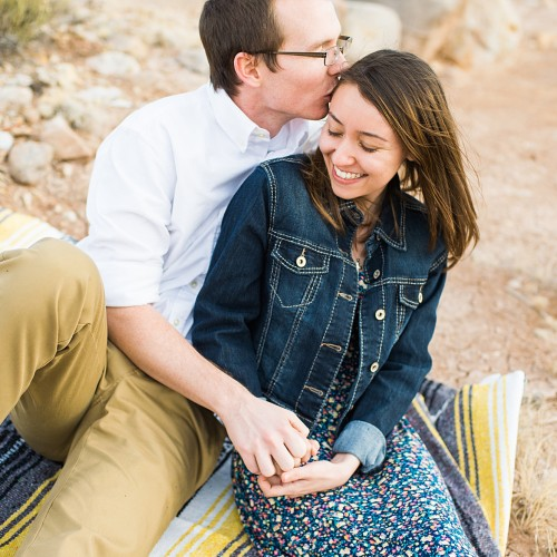 Santa Fe New Mexico Engagement Session - Desiree + Daniel